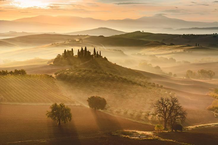 Golden sunrise Photo by Giovanni Modesti