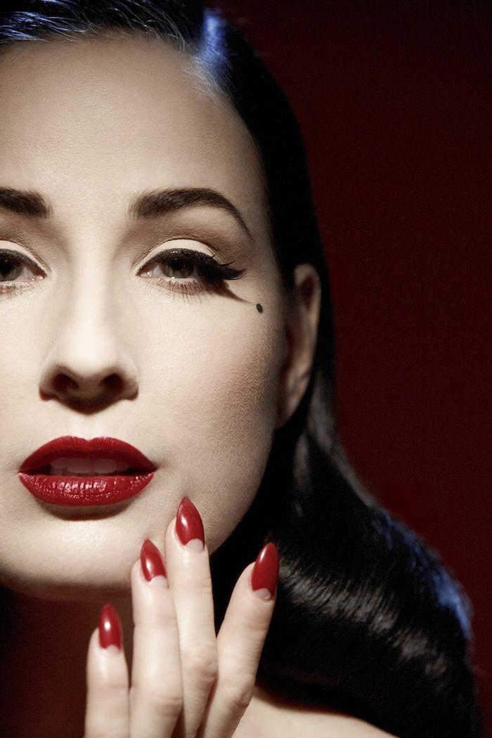 ce7417eae24a Exclusive  Dita Von Teese Tells Us All Her Lipstick Secrets