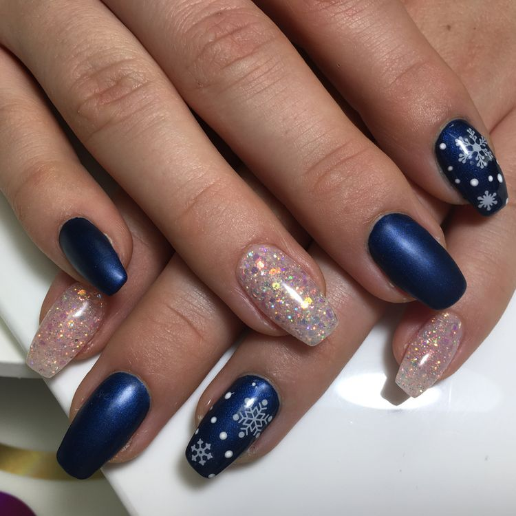 64 Winter Nail Colors Worthy Of A Snow White Queen Nails Winter