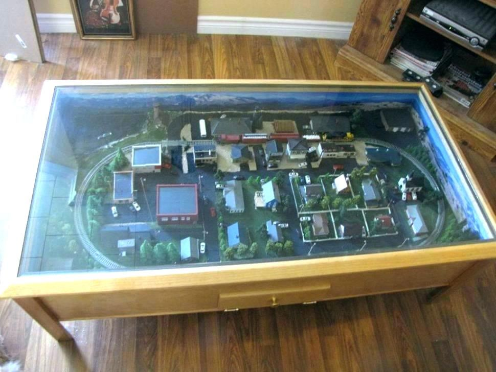Amazing N Scale Coffee Table Coffee Table Train Table With Drawers Machost Co Dining Chair Design Ideas Machostcouk