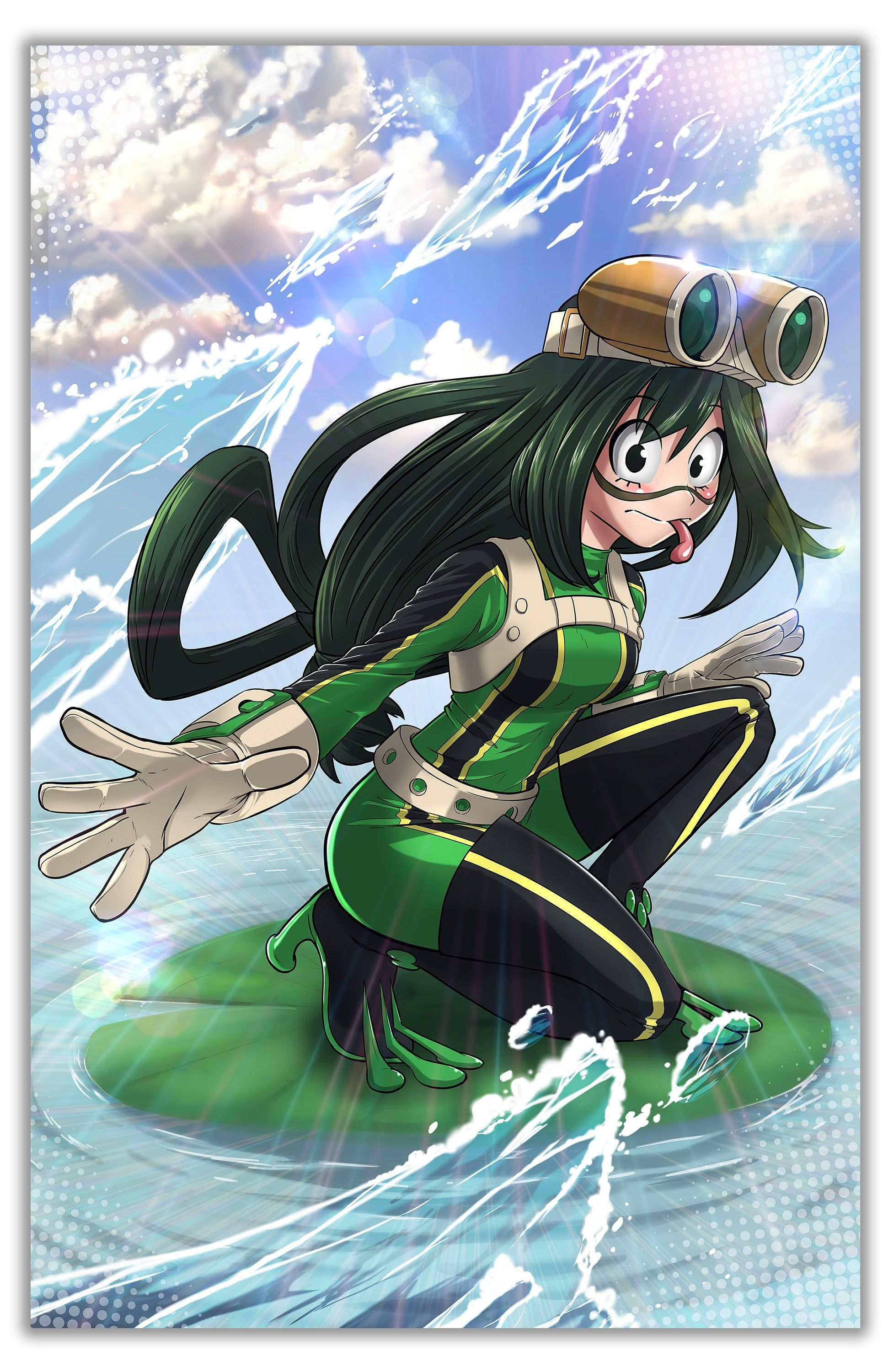 Froppy in 2020 11x17 poster art prints anime