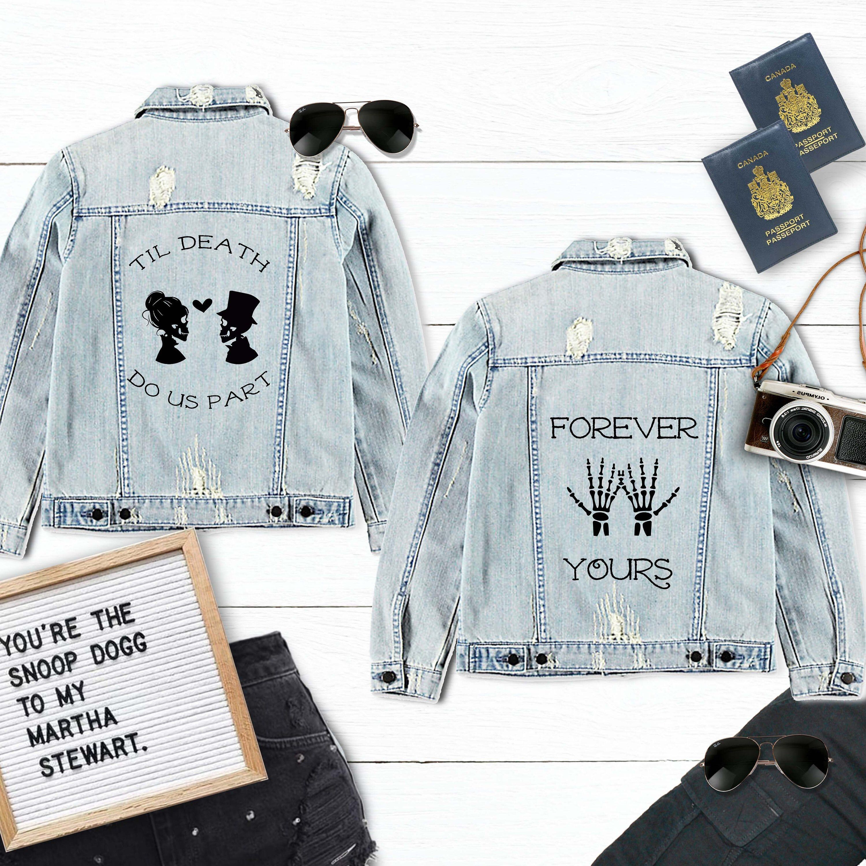 Bride To Be Iron-On for Bridal Jean Jackets