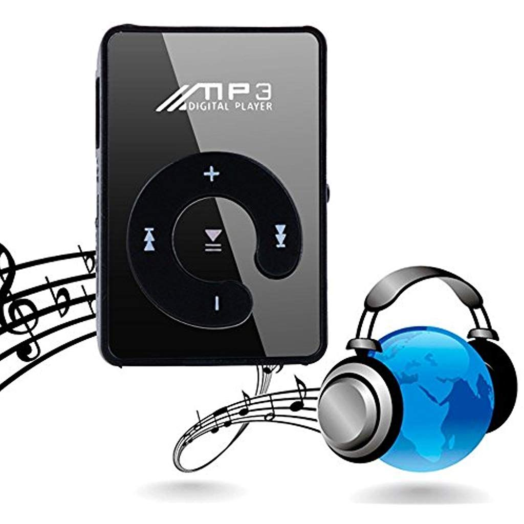 Headphone Clip Music Player MP3 Player Portbale Sports MP3 Player