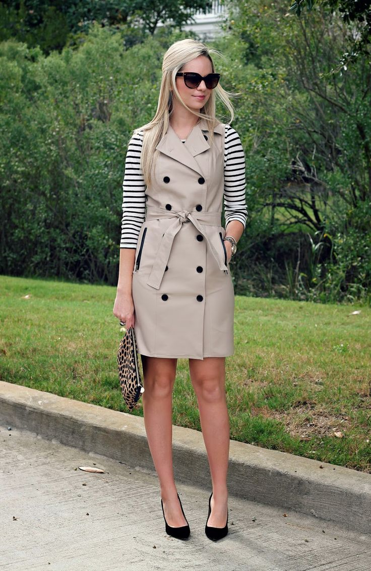 Trench Coat Styles for Women | Sleeveless trench coat, Trench and ...