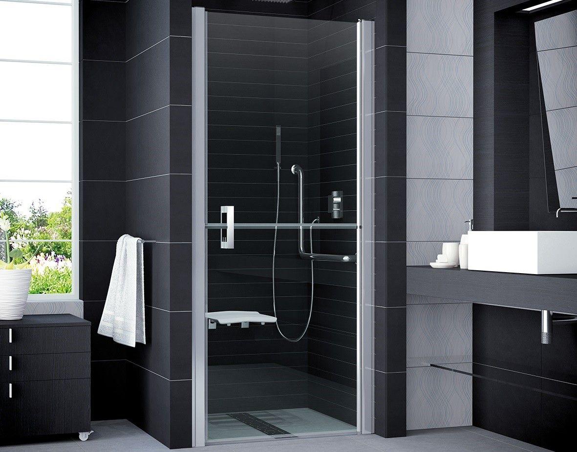 Re Behindertengerecht duschtür behindertengerecht 100 x 195 cm sicherheitsglas esg 6 mm