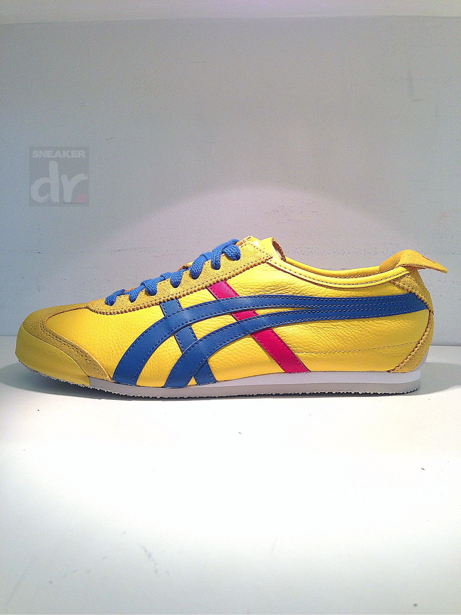 776c73ee6906d Onitsuka Tiger Mexico 66 HL7C2-0442 Yellow/Blue/Red #OnitsukaTiger ...