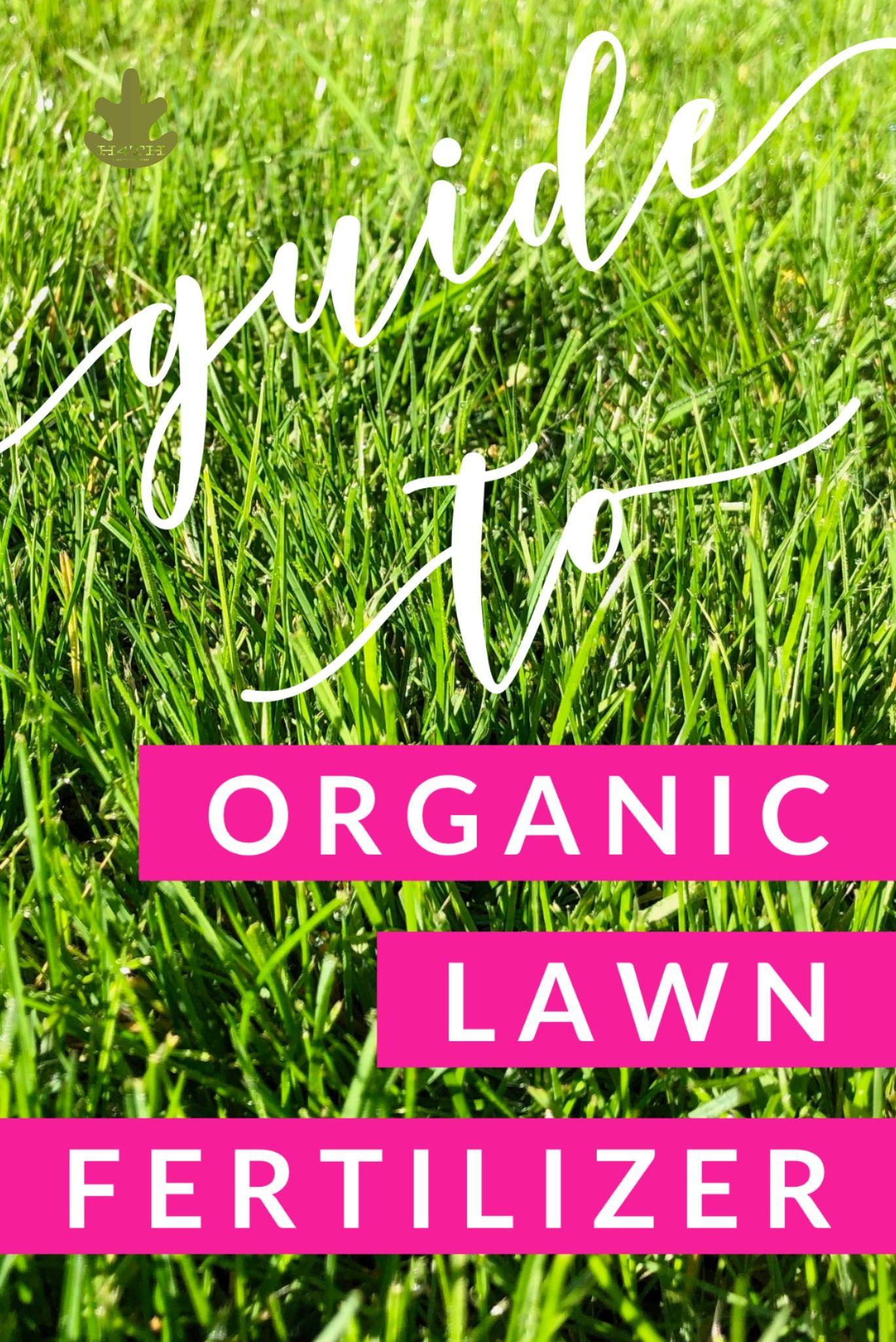Organic lawn fertilizer a homeowners guide in 2020