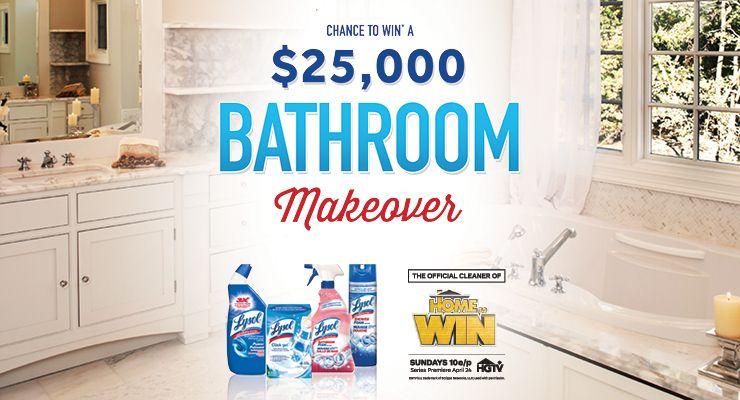 Bathroom Makeover Contest | Bathroom makeover ...