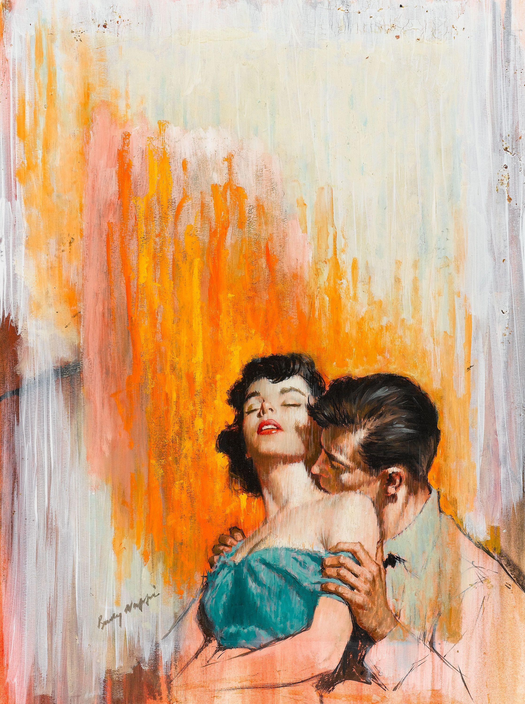 Открытки, картинки ретро про любовь