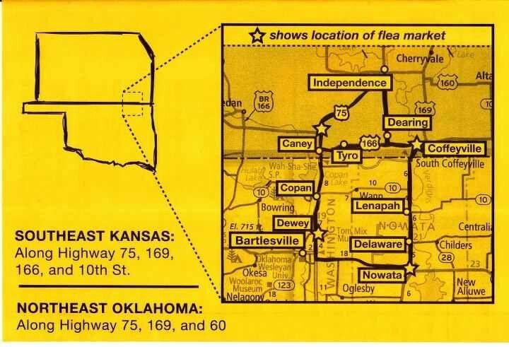 Love This 100 Mile Garage Sale Cherryvale Northeast Oklahoma Yard Sale