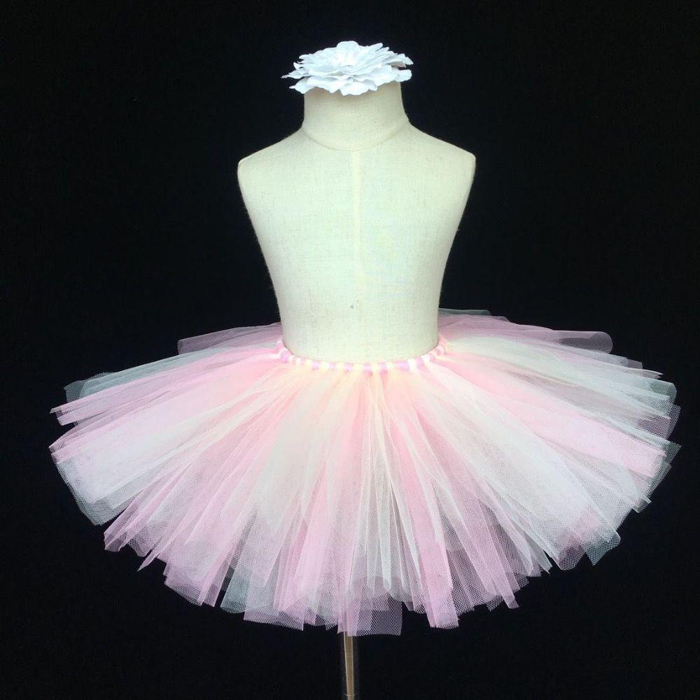 Click To Buy Cute Baby Skirts Girls Fluffy Ballet Pettiskirt Tutu Dance