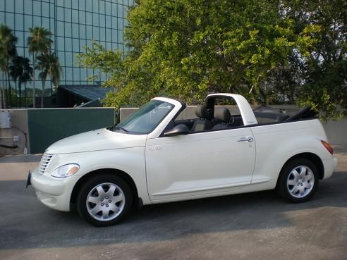 Chrysler Pt Cruiser Cabriolet Dream Car White Convertible O Yea