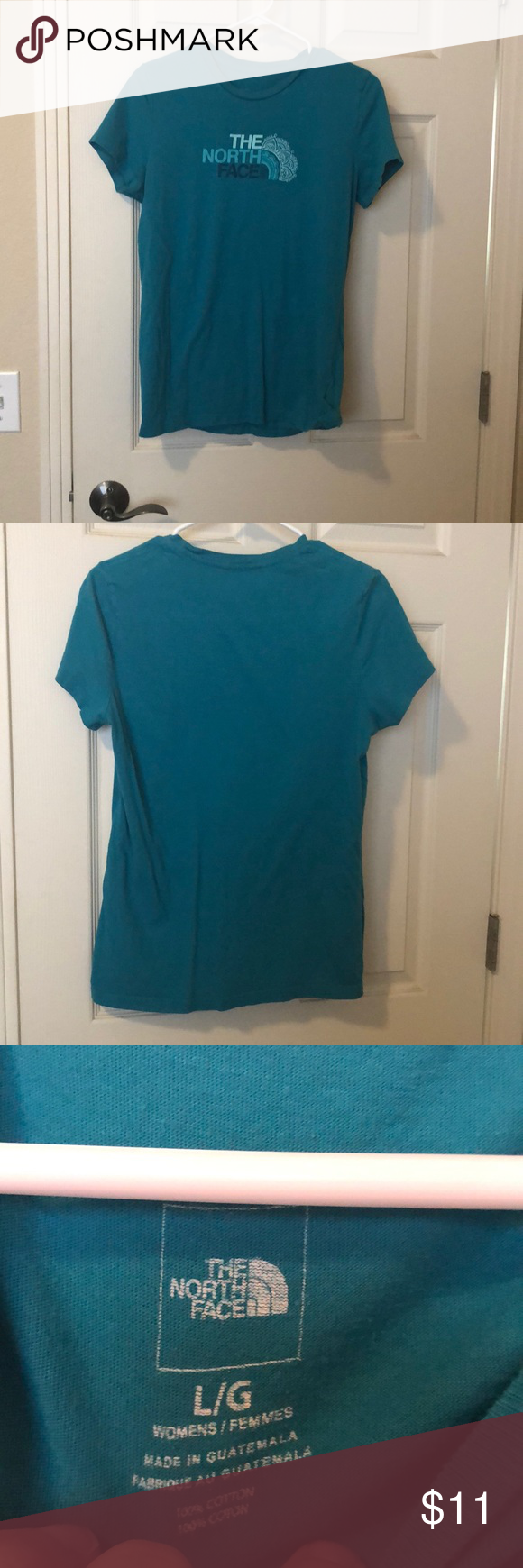 b0f1d92082 Northface women's shirt Northface womens shirt. Black. Shortsleeve size  large. Not faded. Great condition. The North Face Tops Tees …