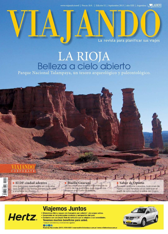 Viajando Argentina Nº 52  Revista de viajes y turismo de Argentina