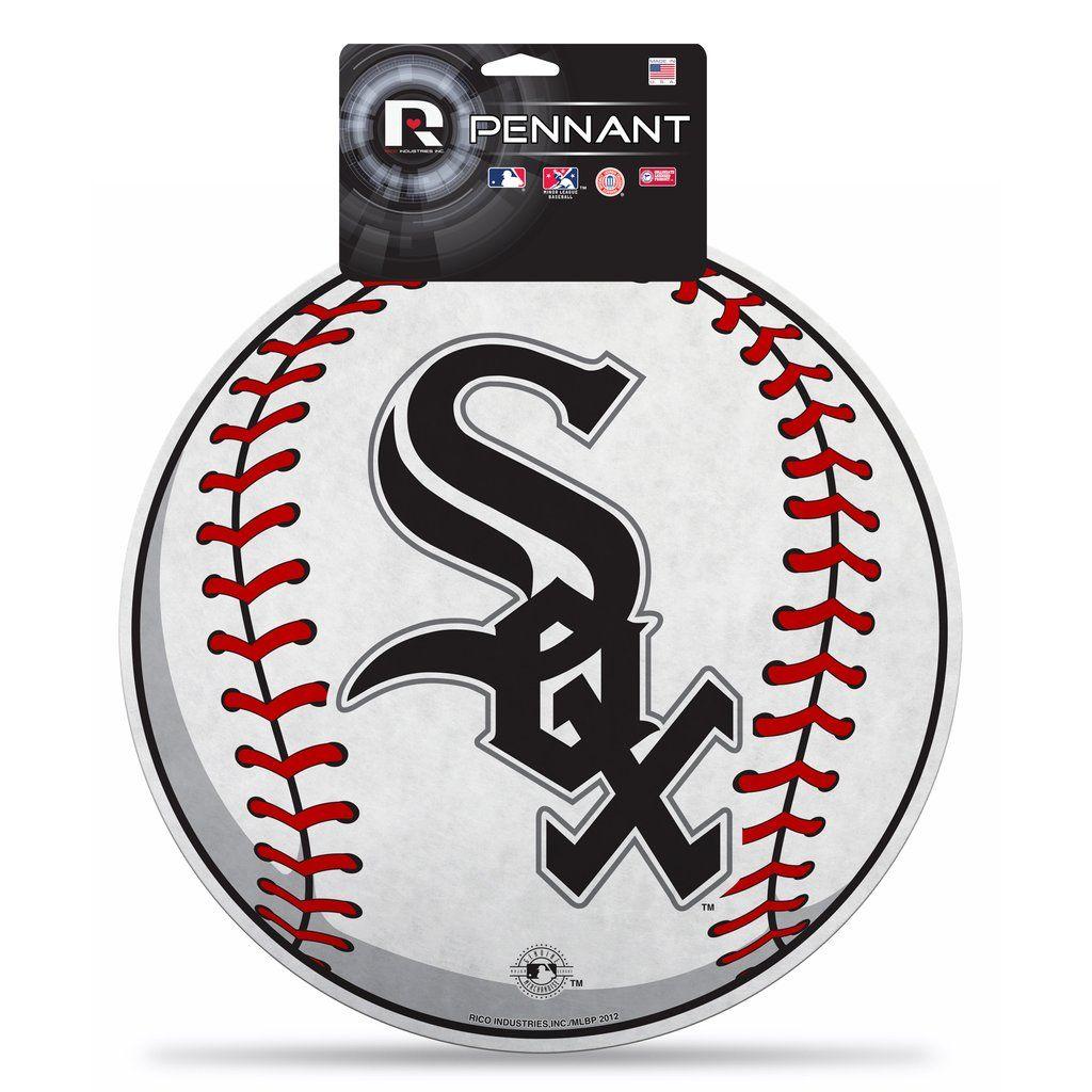 Chicago White Sox Magnets baseball Set of 4 Tile Magnets