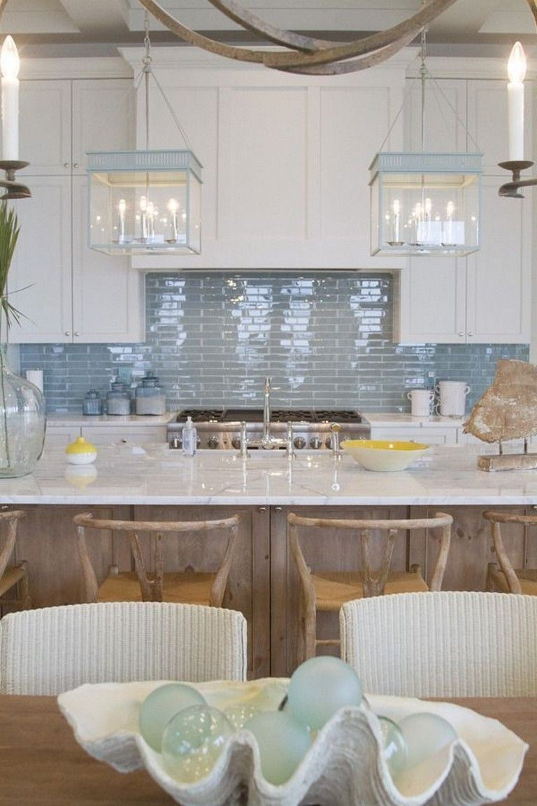13 Awesome Florida Style Homes In 2020 Beach House Kitchens Kitchen Inspiration Design Beach Kitchens