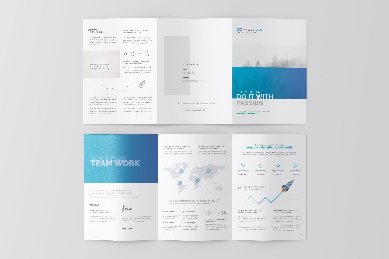Mobile App Tri Fold Brochure Template Psd Trifold Brochure Template Trifold Brochure Print Design Brochure
