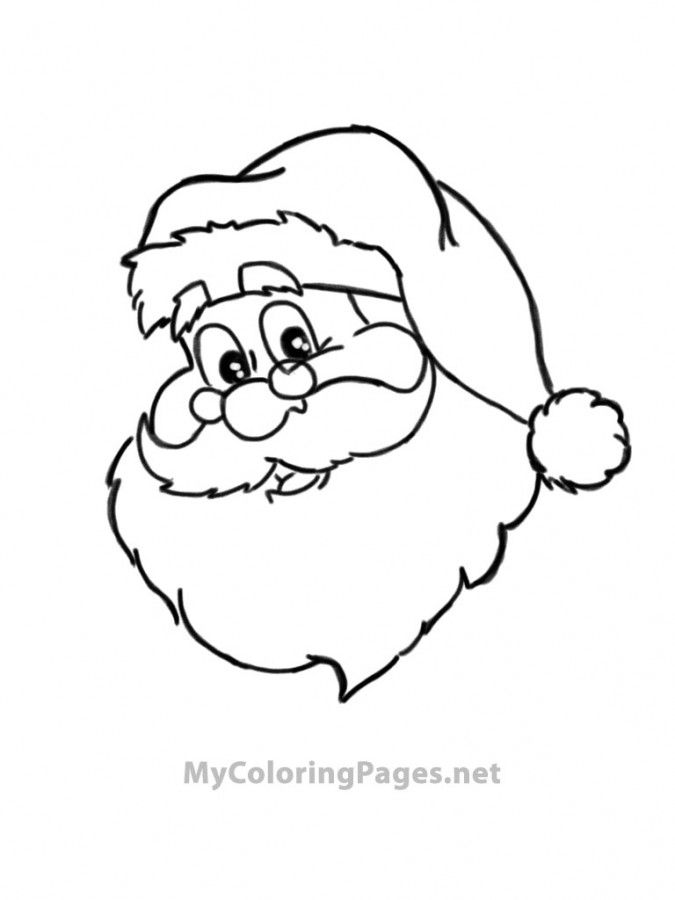free printable color book pages santa fireman santa coloring pages
