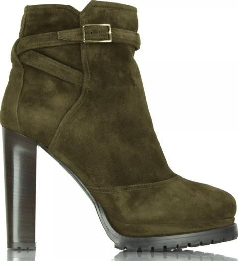 83c67991b Droni C Dark Green Women s Suede Ankle Boot  Green