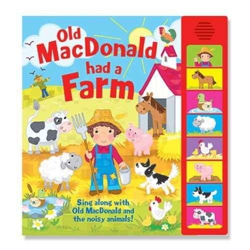 Old Macdonald Had A Farm Igloo Books Ltd Super Sounds Amazon Co Uk Books Farm Birthday Farm Crafts Farm Party