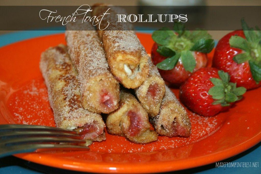 Francês Rollups brinde.  De MadeFromPinterest.net