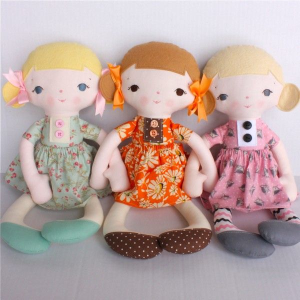 jean doll pattern // bitofwhimsyprims | baby | Pinterest | Dolls ...