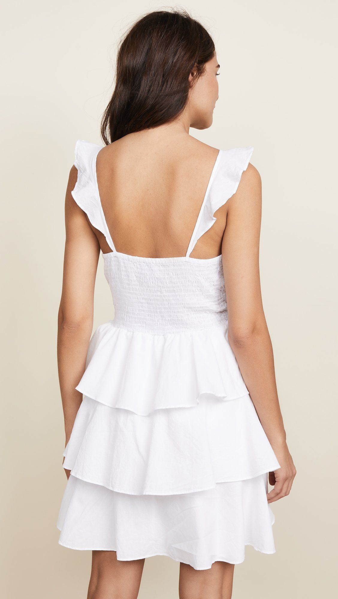 Kos Resort Womens Tiered Mini Dress White Large You Can Find Out More Details At The Link Of The Image Affiliate Link Dre Dresses Mini Dress Womens Dresses [ 2000 x 1128 Pixel ]