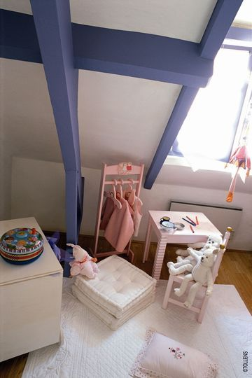 Peinture couleur pour chambre d\u0027enfant - peindre sur peinture laquee