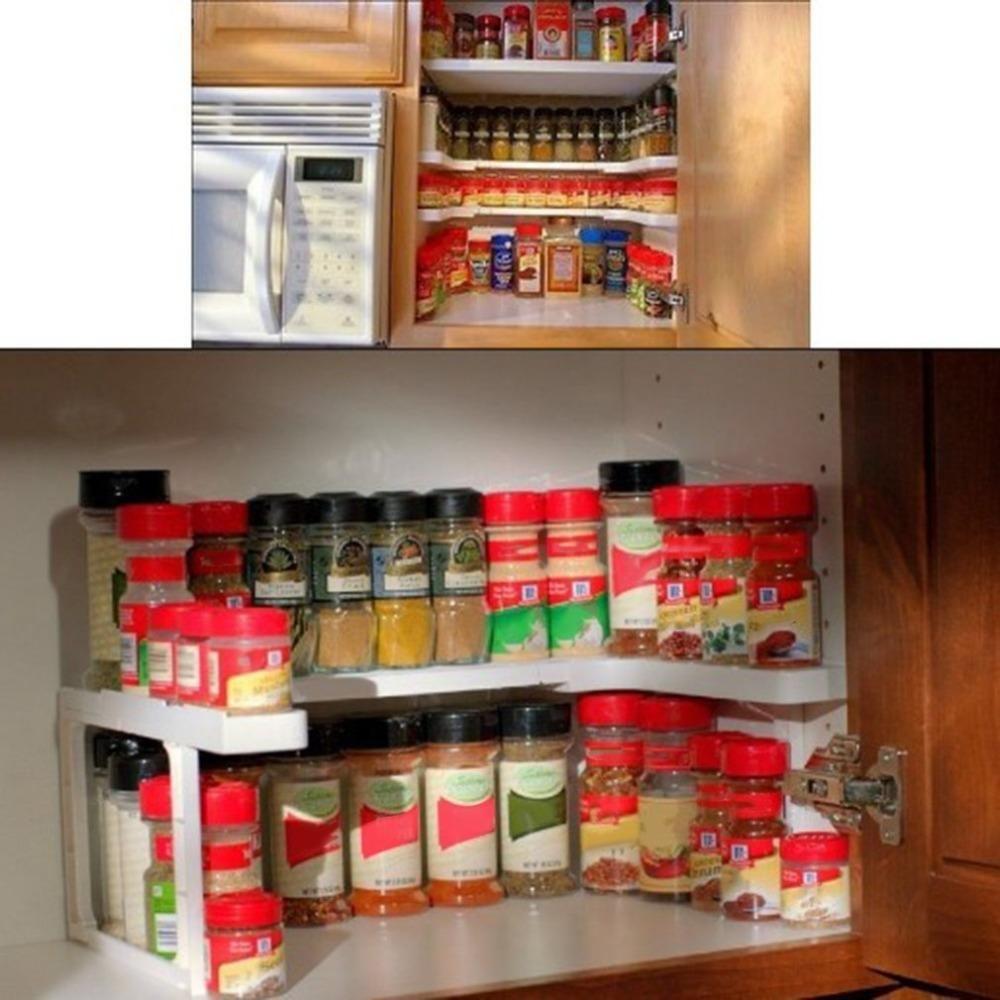 Adjustable Spice Rack Kitchen Design Diy Spice Rack Organization Spice Storage