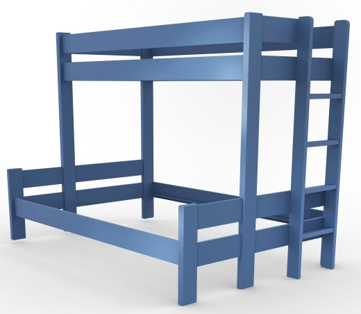 Best Bunk Bed With A Bottom Double Bed 140X190Cm Bunk Beds 400 x 300