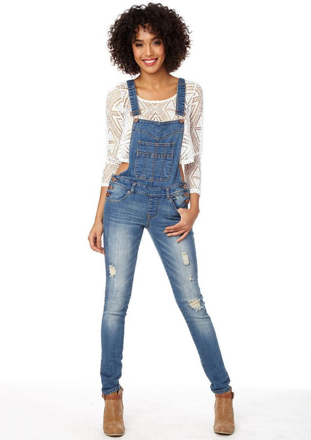 Women's Ripped Denim Bib Overall Shorts Raw Hem Shortall Jeans. from $ 22 99 Prime. out of 5 stars Liyuandian. Womens Summer Denim Short Overalls Bib Overall Shortalls Shorts With Pockets. from $ 21 98 Prime. out of 5 stars Duo Bao Yu.