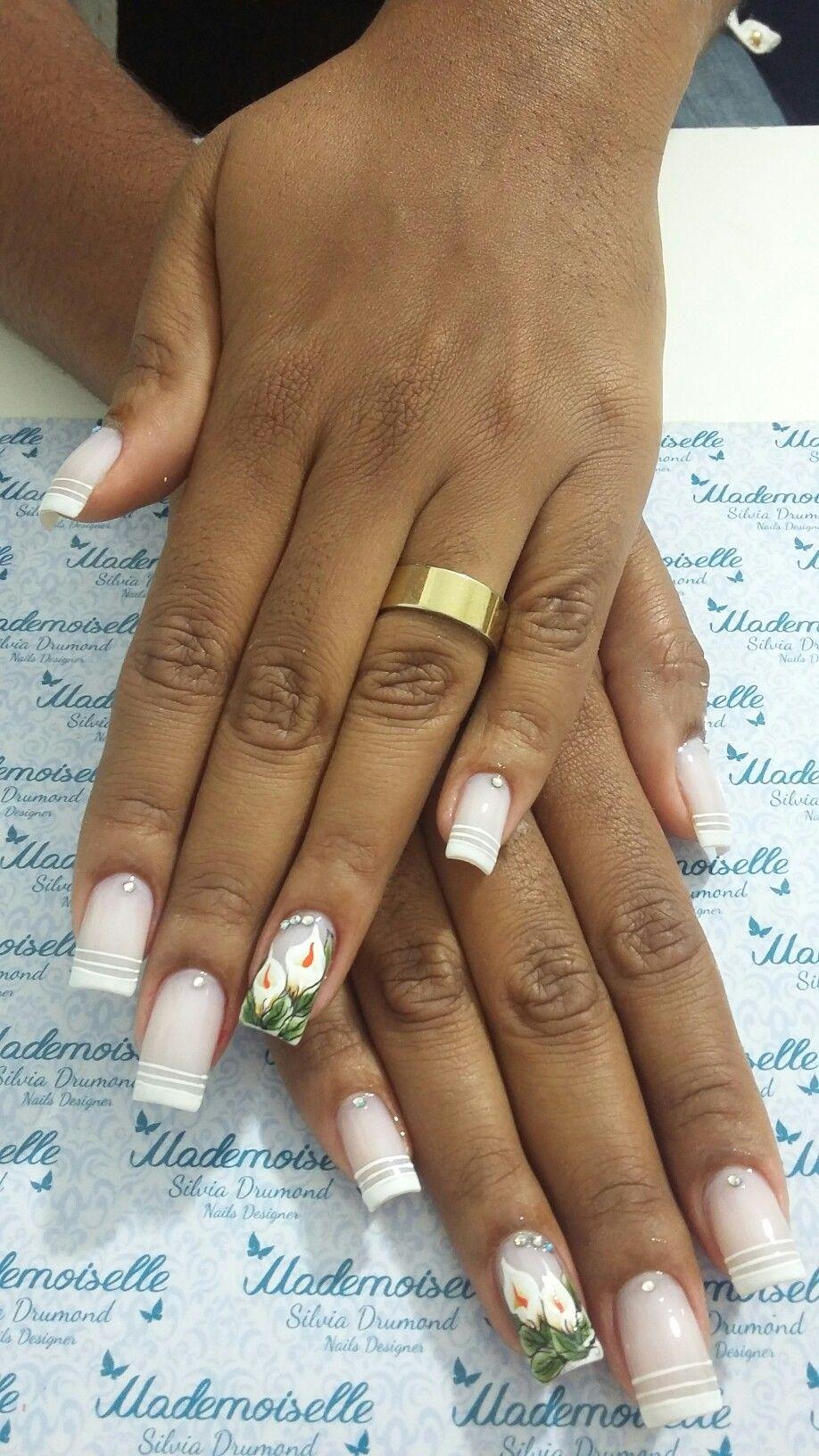 #nails #nailart #nailslove #meustrabalhos #amooquefaço #Mademoiselleespaçodeunhas #silviadrumond