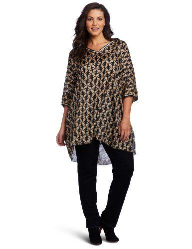 piniful plus-size-tunic-tops-19 #plussizefashion   plus size