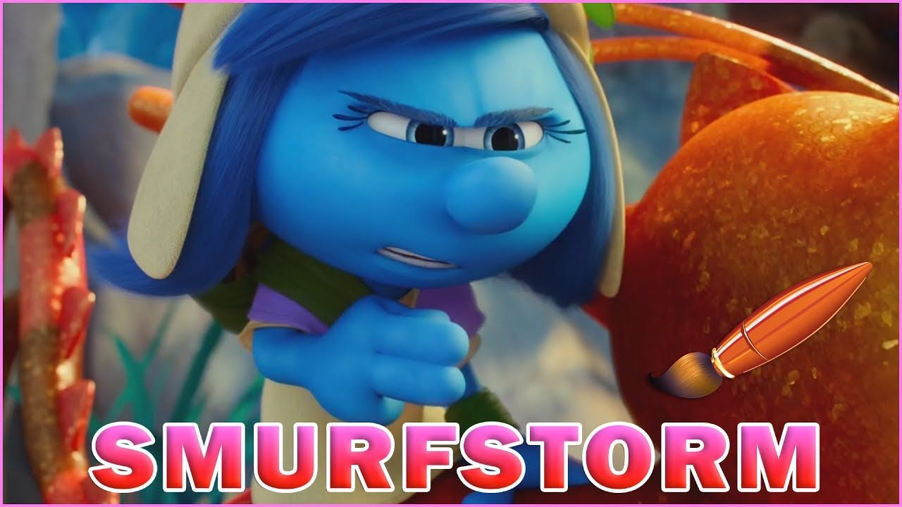 Smurfstorm Riding Her Dragonfly - Kids Coloring Book | Coloring ...
