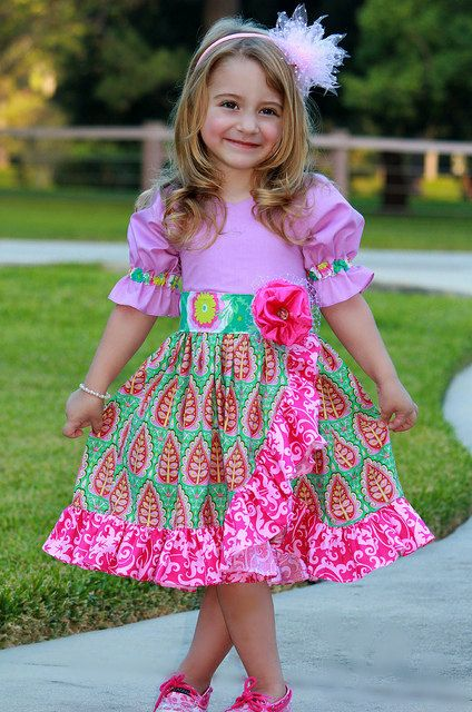 Holiday Sugarplum Dress sz 12mo 7yrs | Babyhose, Nähideen und Baby ...