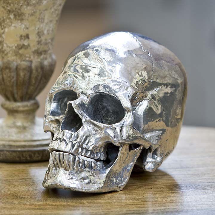 Metal Skull Home Accessories Tonic