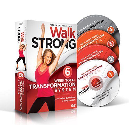 Walk STRONG: Workout Videos For Women, Best Cardio 6 Week Weight Loss DVDs