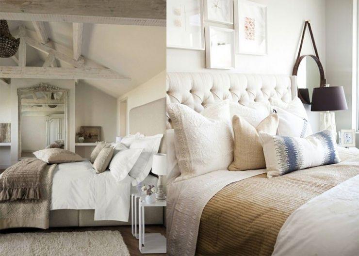 8x beigetinten in de slaapkamer interior pinterest for Slaapkamer landelijk modern