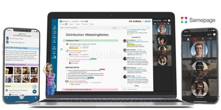 Download Samepage 2020 🥇 Group Video Chat & Screen Sharing