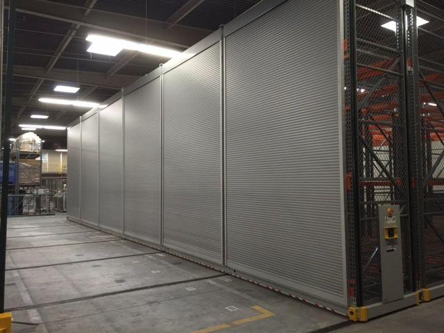 Rollok Rolling Doors In Storage Solution Application Security Shutters Doors Security Door