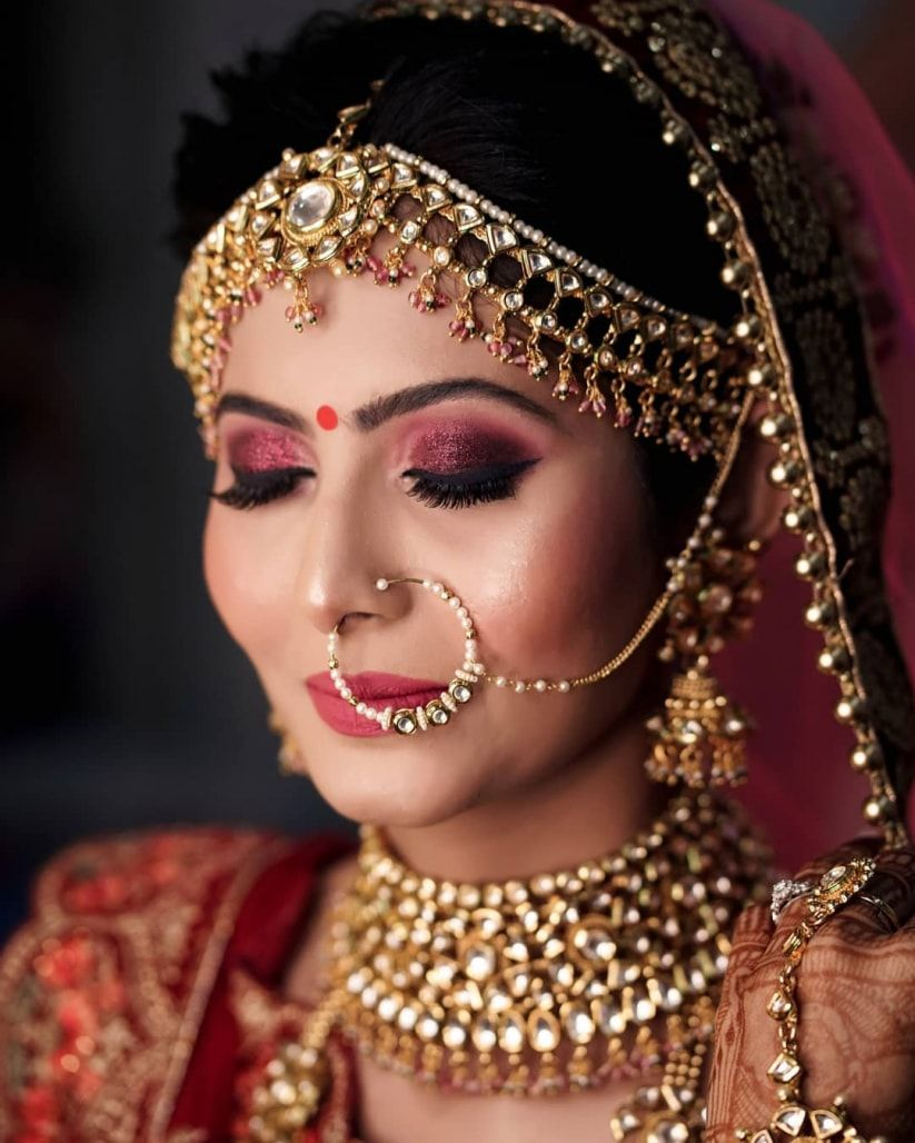 Here Are Some Indian Bridal Makeup Images To Give You Some