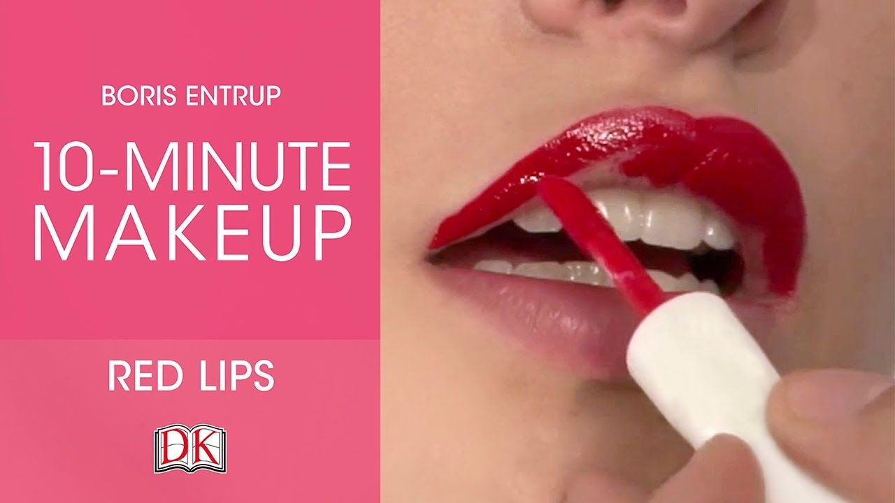 Makeup Tutorial: Classic Red Lips