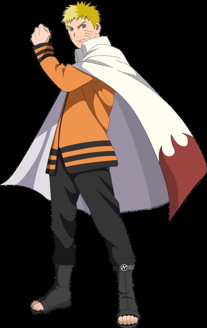 Naruto Hokage By Naironkr Com Imagens Naruto Desenho Naruto