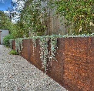 Retaining Wall Construction Garden Retaining Wall Steel Retaining Wall Corten Steel Planters