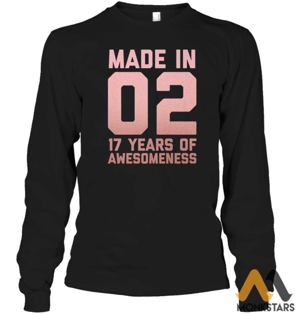 17th Birthday Shirt Teen Girls Age 17 Year Old Niece Gifts - Monkstars Inc. #17thbirthday