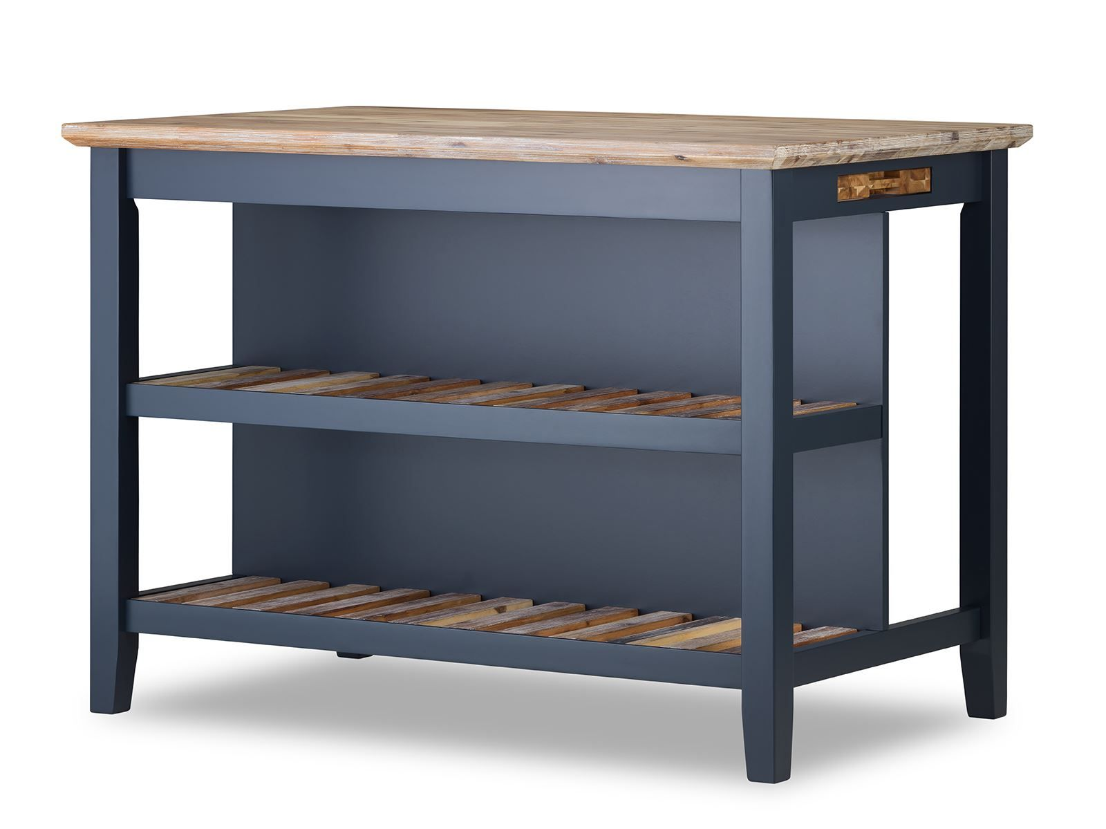 Florence Breakfast Bar With 2 Large Shelves Small Kitchen Island With Storage Ebay In 2020 Small Kitchen Island Portable Kitchen Portable Kitchen Island