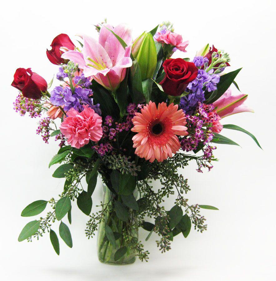 Milwaukee Florist Greenfield Flower Shop Flower Delivery Flower Arrangements Pink Gerbera