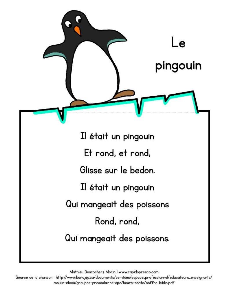 Paroles De La Chanson Le Pingouin Rapido Presco Chansons