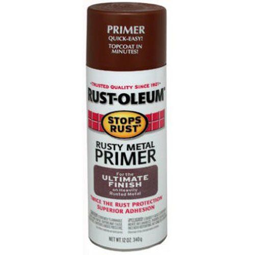 Rust Oleum 7769830 Stops Spray Paint 12 Ounce Flat Rusty Metal Primer Home Improvement In 2020 How To Clean