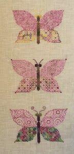Tom et Lily Creations: Nouveauté Blackwork...Les Papillons
